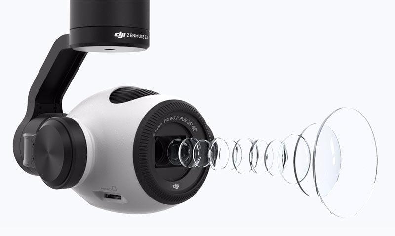 大疆推出可变焦相机Zenmuse Z3 第3张